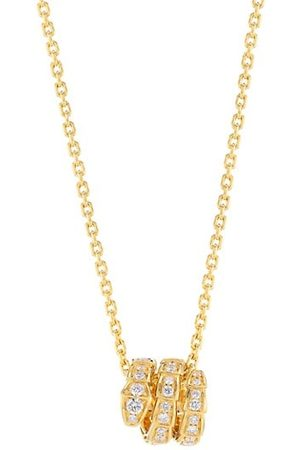 Bvlgari Necklaces - Serpenti Viper 18K & Pavé Diamond Pendant Necklace