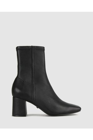 ZU Women Boots - Britty Leather Sock Boots - Boots Britty Leather Sock Boots