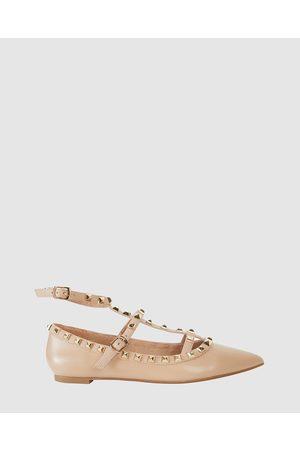 Pink Inc Women Ballerinas - Inez - Ballet Flats (NUDE) Inez