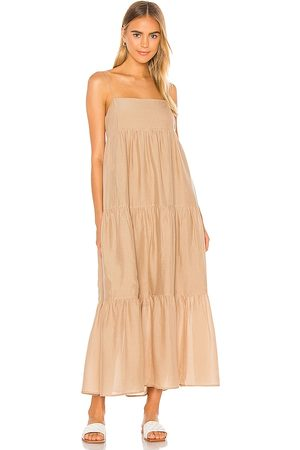 L'Academie The Kiyama Maxi Dress in .