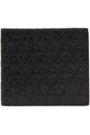 Saint Laurent Men Wallets - Monogram embossed leather bifold wallet