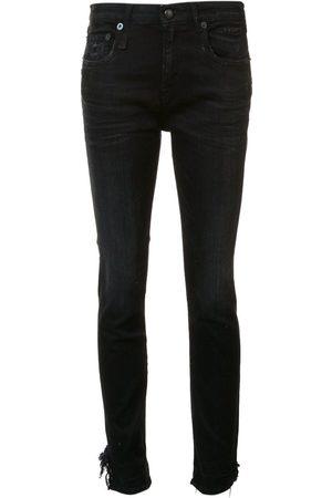 R13 Women Skinny - Stratford' raw hem jeans