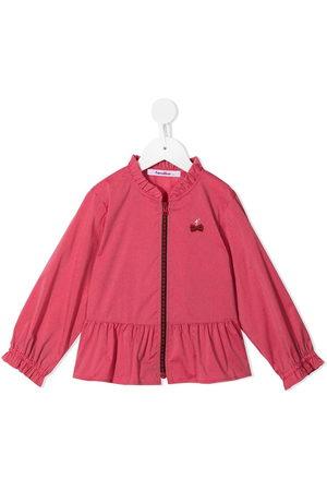 Familiar Ruffle-trim jacket