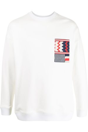 Ports V Sweatshirts - Geometric detail sweatshirt