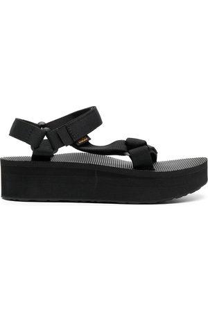 Teva Women Heeled Sandals - Side-buckle platform sandals