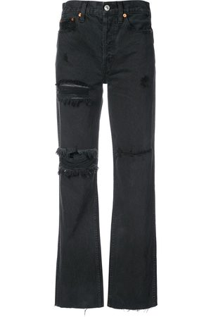RE/DONE Women High Waisted - Distressed high waisted jeans