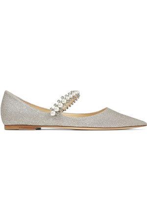 Jimmy Choo Baily embellished ballerina shoes