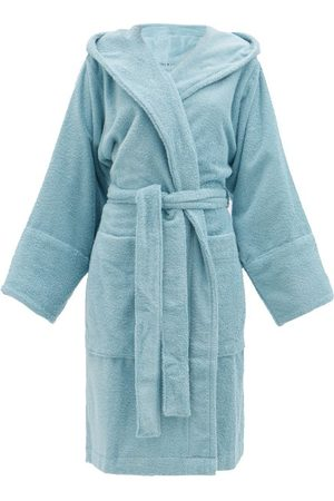 Tekla Women Bathrobes - Hooded Cotton-terry Bathrobe - Womens - Light