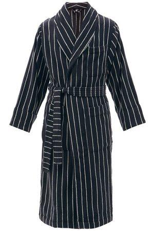 Three Graces London Harisha Plunge-back Linen-voile Dress - Womens