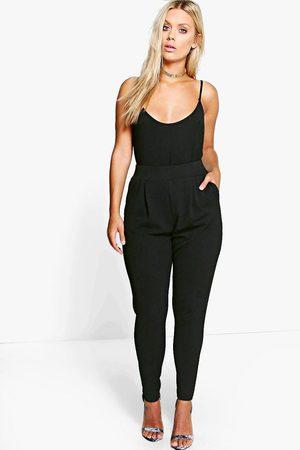 Boohoo Women Culottes - Plus Pleat Front Pants
