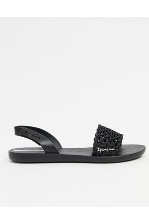 Ipanema Breezy two-part sandals in black