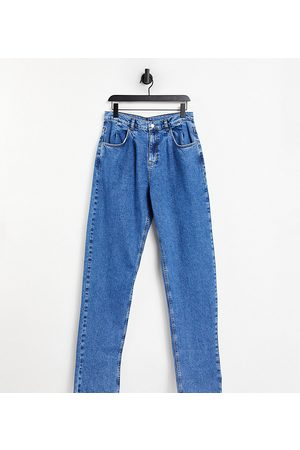 Reclaimed Vintage Inspired '83 unisex relaxed fit jeans in vintage blue