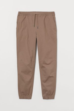 H&M Men Joggers - Cotton Twill Joggers