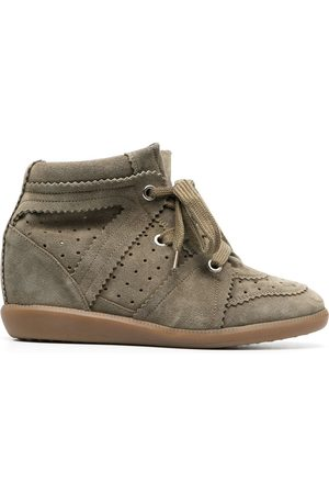 Isabel Marant Women Platform Sneakers - Bobby wedge sneakers