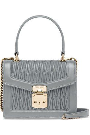 Miu Miu Women Tote Bags - Miu Confidential matelassé handbag