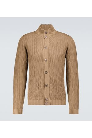 ZANONE Men Cardigans - Linen and cotton cardigan
