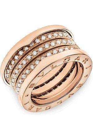 Bvlgari B.zero1 18K & Diamond 4-Band Ring