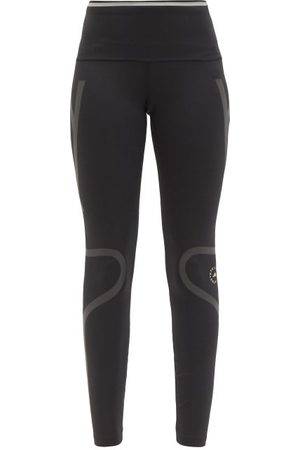 adidas Truepace Reflective-tape High-rise Jersey Leggings - Womens