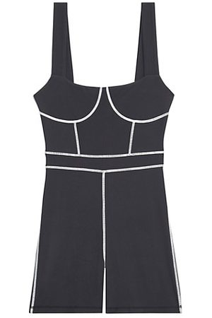 WeWoreWhat Corset Piped Bodysuit