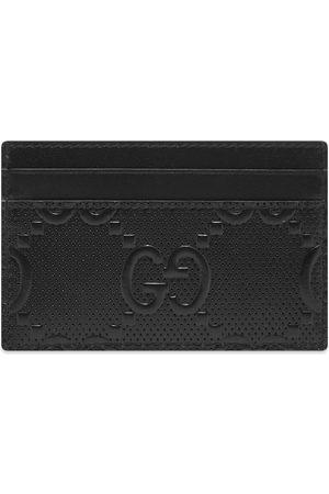 Gucci Men Wallets - GG Embossed Card Holder