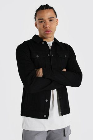 Boohoo Men Denim Jackets - Mens Tall Regular Denim Western