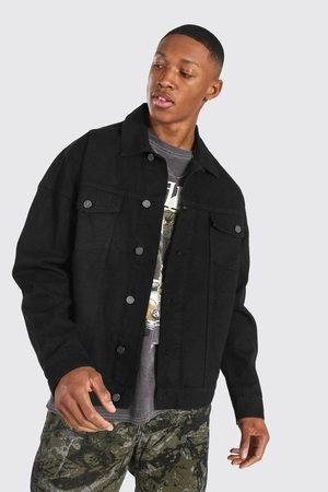 Boohoo Mens Oversized Denim Jacket