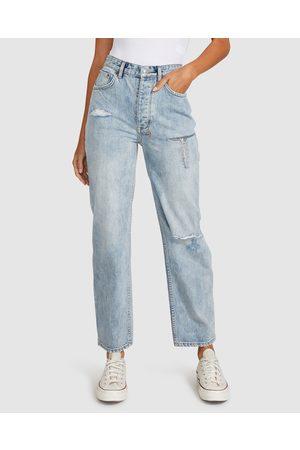 KSUBI Women Jeans - Brooklyn Jeans Trashed Skream