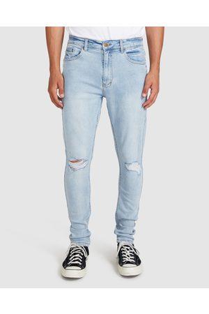 Insight Pistol Jeans Ripped Oceanside Blue