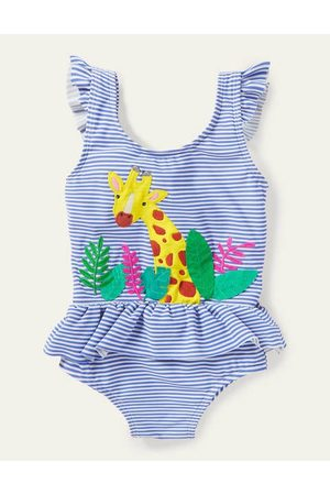 Cubus Baby Swimsuits - Frill Waist Swimsuit Boden