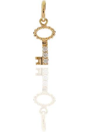 GIGI CLOZEAU Women Keychains - 18kt yellow diamond key charm