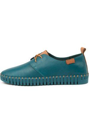 Django & Juliette Women Casual Shoes - Hollis Dj Teal Dk Tan Sneakers Womens Shoes Casual Casual Sneakers