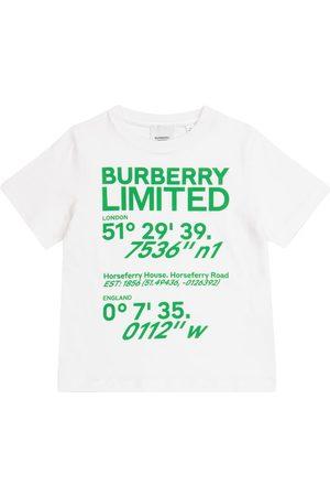 Burberry Boys Short Sleeve - Logo cotton T-shirt