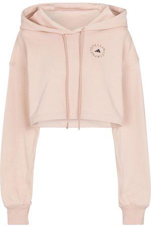 adidas Women Hoodies - Futureplayground cotton jersey hoodie