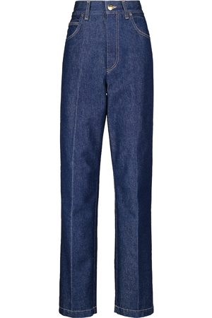Goldsign The Crossway high-rise straight jeans