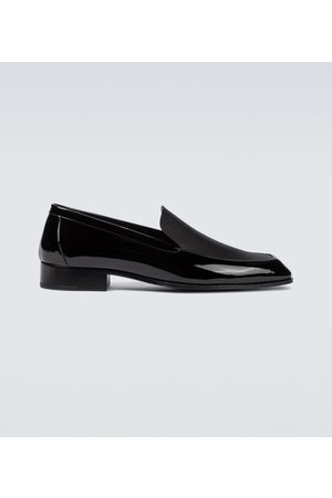 Saint Laurent Men Loafers - Henry patent leather loafers