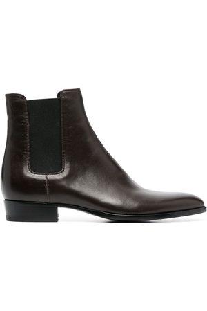 Saint Laurent Wyatt 30mm Chelsea boots