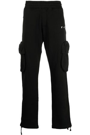 OFF-WHITE Men Cargo Pants - New Logo cargo-style track pants
