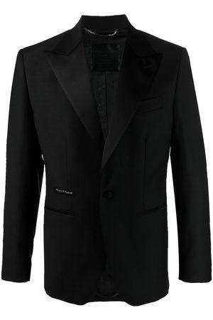 Philipp Plein Men Blazers - Peak-lapels single-breasted jacket
