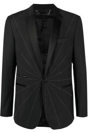 Philipp Plein Men Blazers - Embellished tailored blazer