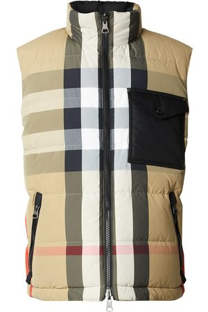 Burberry Reversible Recycled Nylon Re:Down® Puffer Gilet