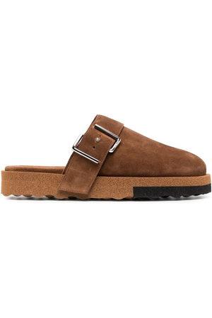 OFF-WHITE Men Slippers - Comfort backless slippers