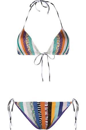 Missoni Women Bikinis - Metallic-stripe bikini