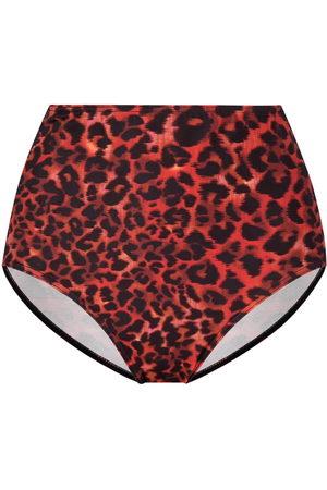Marlies Dekkers Women Bikinis - Leopard-print high-waisted briefs