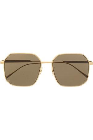 Bottega Veneta Sunglasses - Square-frame titned sunglasses