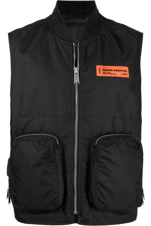 Heron Preston Men Gilets - NYLON POCKETS VEST