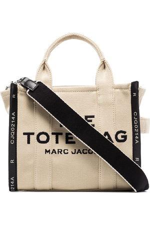 Marc Jacobs The Mini Traveler logo-print tote bag