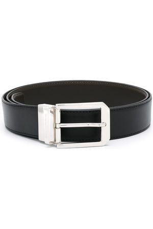 Ermenegildo Zegna Men Belts - Silver-tone hardware belt