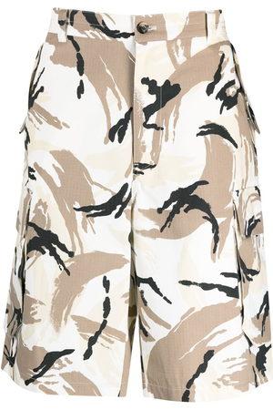 Kenzo Camouflage cargo Bermuda shorts