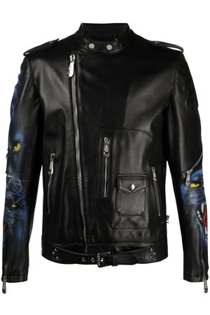 Philipp Plein Iconic leather jacket