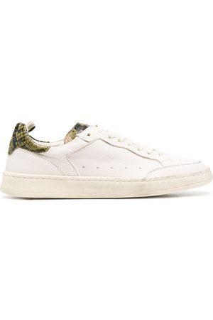 Officine creative Women Sneakers - Kareem snakeskin-effect leather sneakers